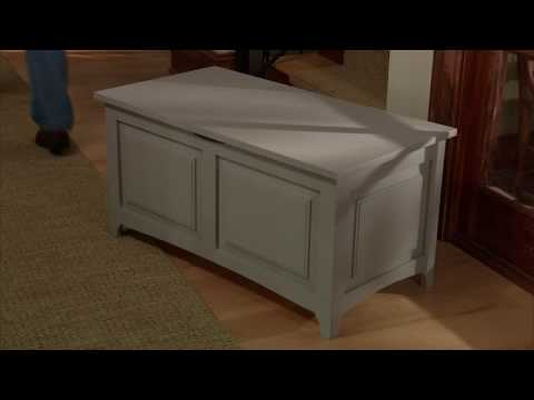 Shop Class: How to Build a Storage Chest Introduction