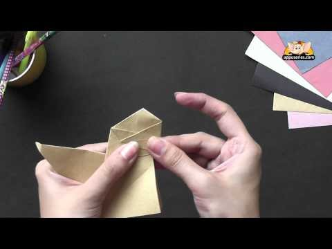 Origami - How to Make a Barking Dog