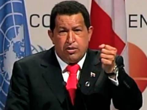 Hugo Chavez: Capitalism to Blame for Climate Crisis