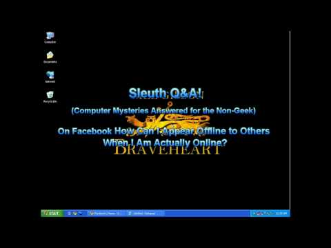 Facebook: How Do I Appear Offline to Others When I Am Really Online? | Sleuth Q&A!