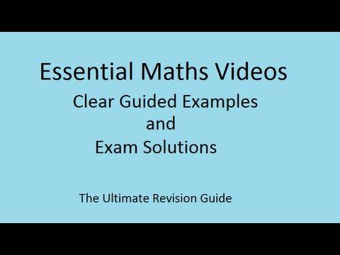 Pythagoras Theorem - a visual demonstration for GCSE