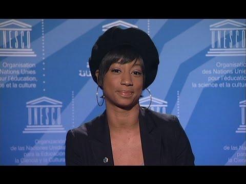 Monique Coleman, UNESCO Youth Forum 2011