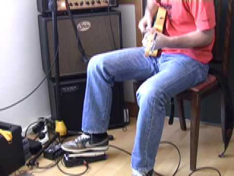 Vox/Keeley Wah Pedal REVIEW & DEMO (GG-303) How to play