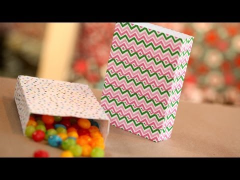 Party Favor Bags DIY Made from Envelopes: How to Make Them || Kin DIY