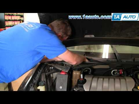 How to Install Replace Cabin Air Filter Olds Intrigue 98-02 1AAuto.com
