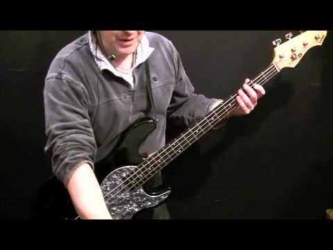 How To Play Bass Guitar to Get It On (T Rex)