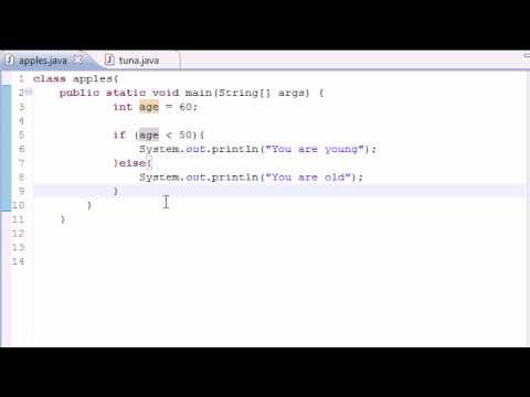 Java Programming Tutorial - 18 - Nested if Statements