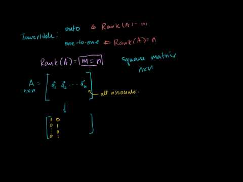 Linear Algebra: Simplifying conditions for invertibility