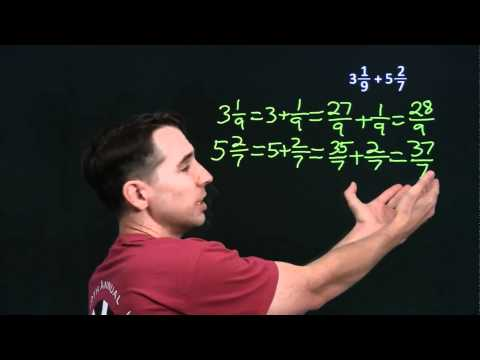 Art of Problem Solving: Mixed Number Addition