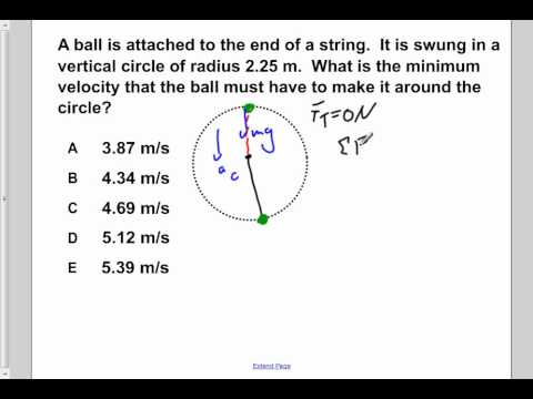 AP Physics B Uniform Circular Motion Presentation #29