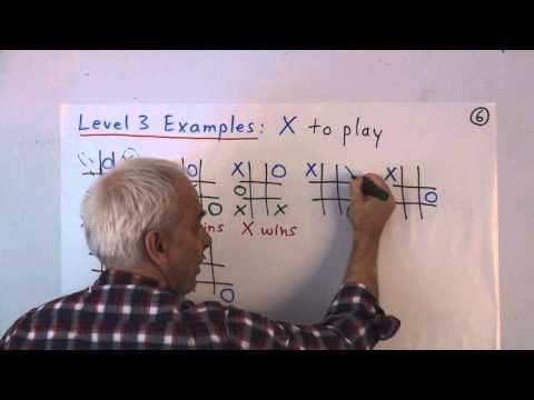 ElemMath 13 (K-6) Explained: Logical reasoning with tic-tac-toe
