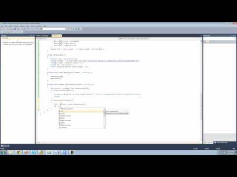 C# Beginners Tutorial - 162 - Project 3 Hang Man, Submit Button