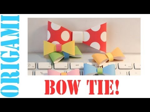 Origami Daily - 141: Ribbon (Bow) - TCGames [HD]