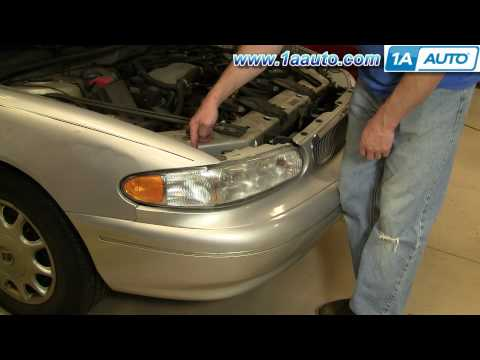 How To Install Relace Headlight Buick Regal Century 97-05 1AAuto.com