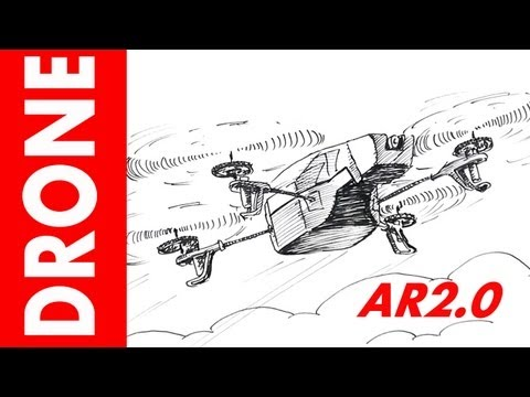 How to draw a Drone Helicopter