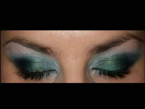 Leona Lewis  I see you Avatar makeup look