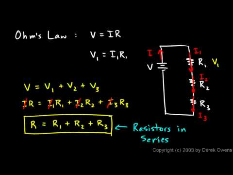 Physics 13.4.1b - Resistors in Series