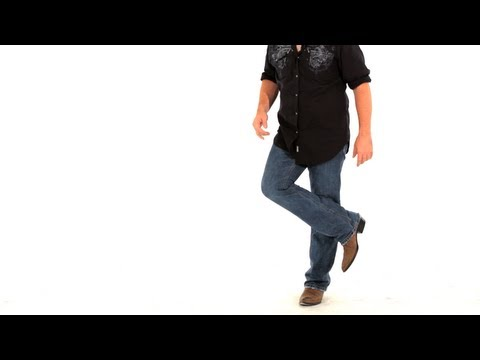 Basic Line Dancing Steps: Rodeo Kicks and Figure 4s