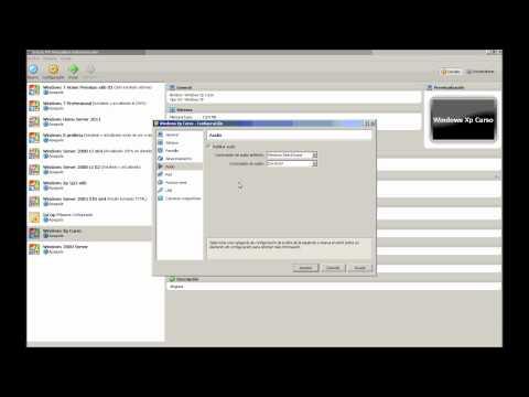 8. Configuración - Opciones de audio