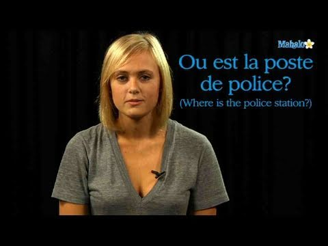 How to Ask For The Police Station in French