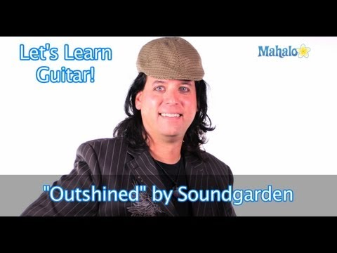 """Outshined"" by Soundgarden Practice Cover on Guitar"