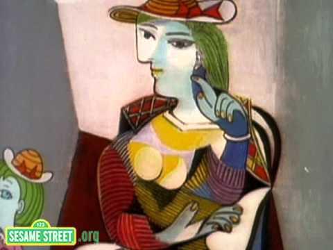 Sesame Street: Picasso's Mom