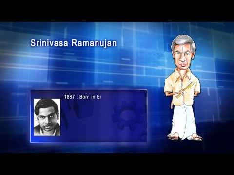 Top 100 Greatest Scientist in History For Kids(Preschool) - SRINIVASA RAMANUJAN