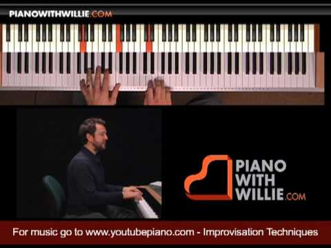 Learn Piano Improvisation - Part 9 - Using Approaches