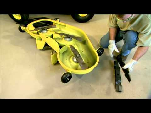 How to Maintain a Lawn Mower Deck - John Deere
