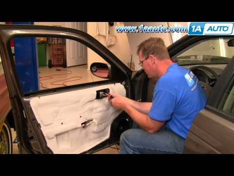 How To Install Replace Inside Door Handle Nissan Sentra 04-06 1AAuto.com