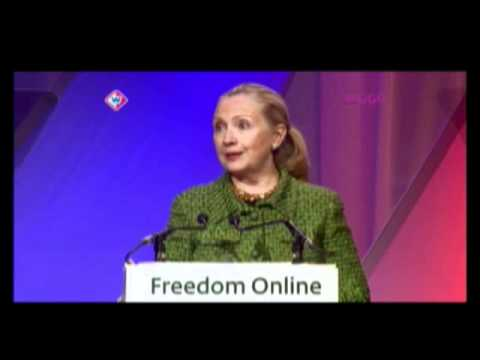 Secretary Clinton Comments on the Cost of Barriers to Internet Freedom