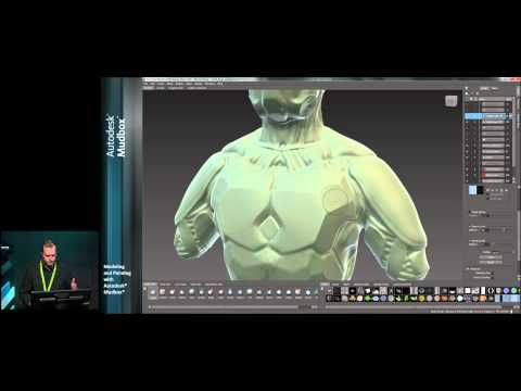 Modeling and Painting with Autodesk Mudbox - Part 2