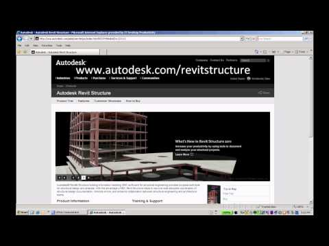 Where to Find Revit Structure 2011 Videos