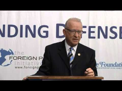 Congressman McKeon: Sequestration's Shadow on the U.S. Military and the Defense Industrial Base