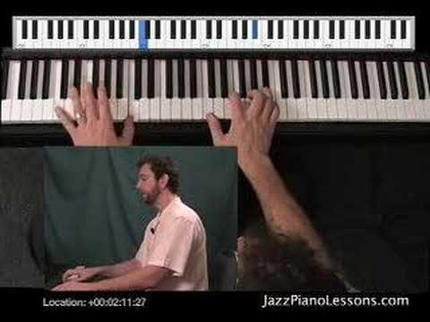 JazzPianoLessons.com New Jazz & Blues DVD