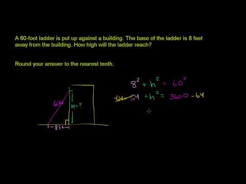 Pythagorean Theorem Application
