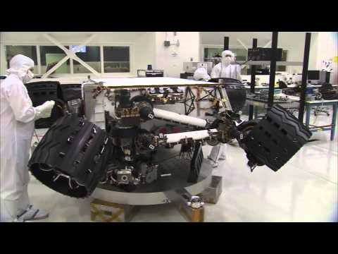 The Big Move for Next Mars Rover