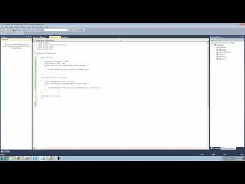 C# Beginners Tutorial - 26 - More on Inheritance and Interfaces
