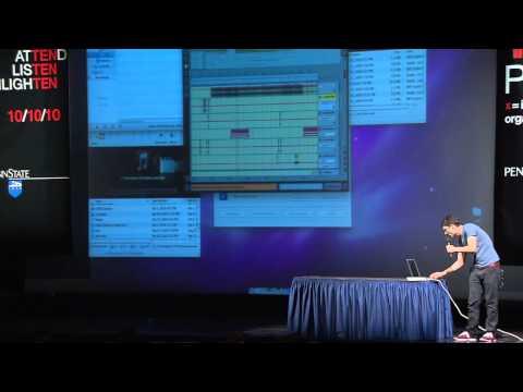 "TEDxPSU - Jordan ""DJ Earworm"" Roseman - Music from the Crowd"
