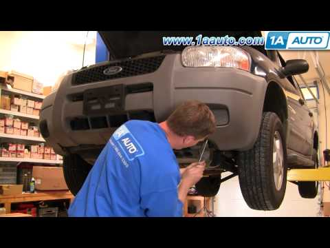 How To Install Replace Front Grill Ford Escape 01-04 1AAuto.com