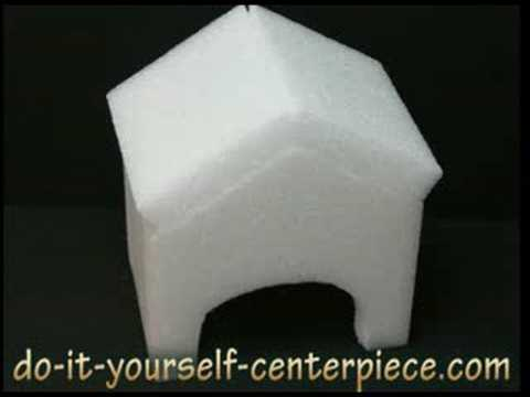 Do It Yourself Dog House Centerpiece -- How To Make One