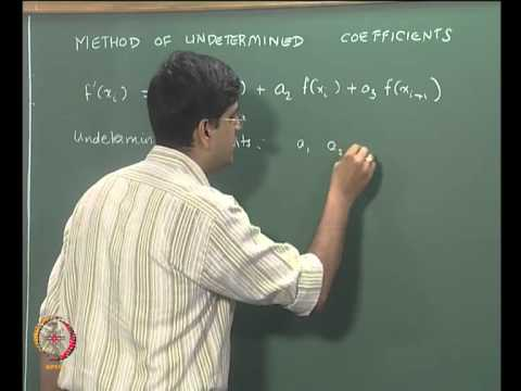 Mod-06 Lec-20 Differentiation and Integration Part 1