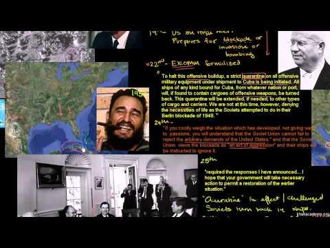 HIST212: Cuban Missile Crisis