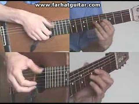 Right hand guitar exercise 6 - Clasical Guitar