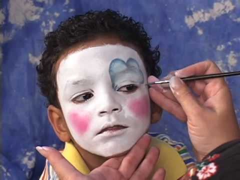 How to Face Paint a Clown