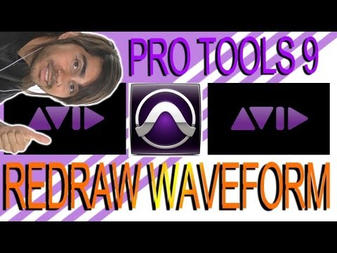 Pencil Tool to Redraw Wave Form - Pro Tools 9