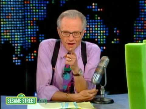 Sesame Street: Larry King Meets the Letter W