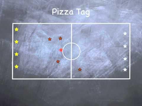 P.E. Games - Pizza Tag