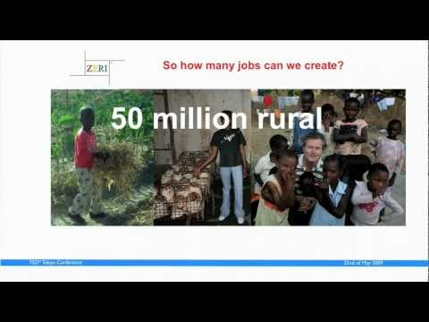 TEDxTokyo - Gunter Pauli - 5/22/09