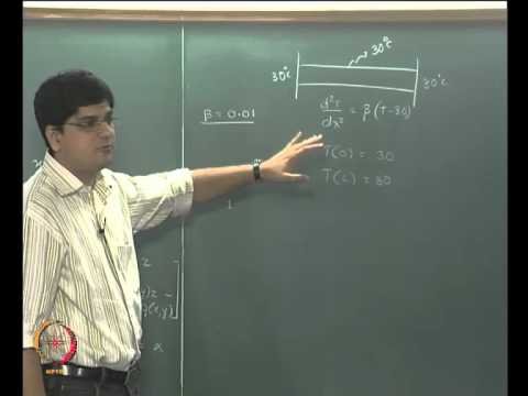 Mod-08 Lec-34 Ordinary Differential Equations (boundary value problems) Part 1